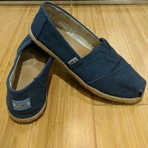 Toms Blue Shoes